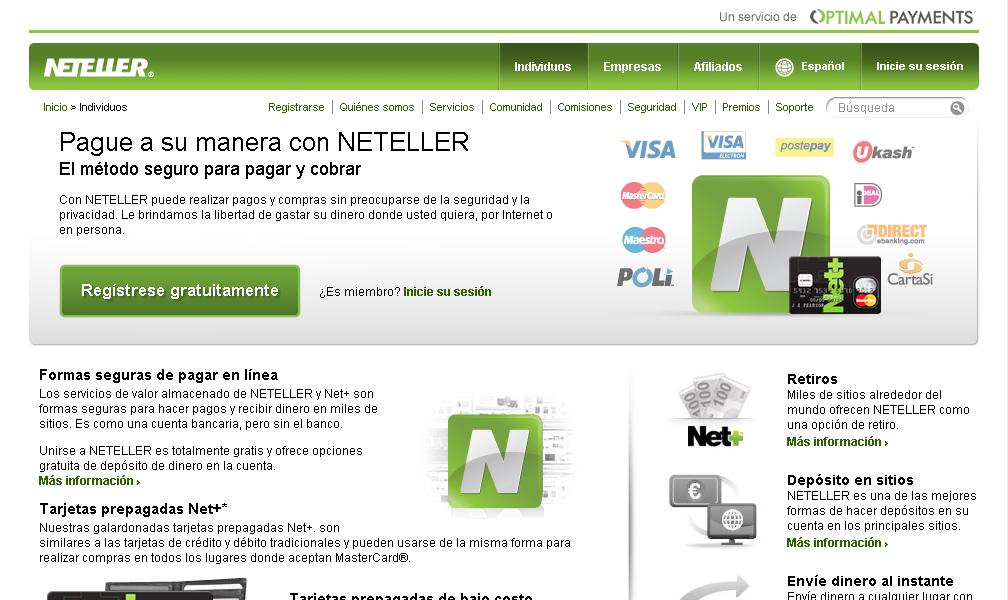 www neteller com